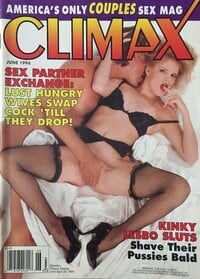 Climax June 1994 magazine back issue