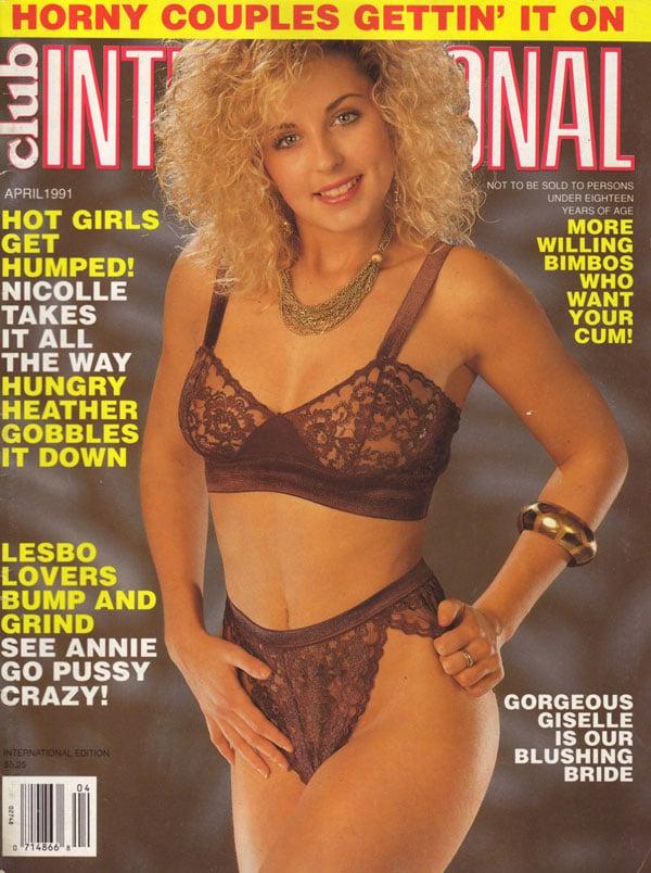 Pity, that International club magazine nude something and