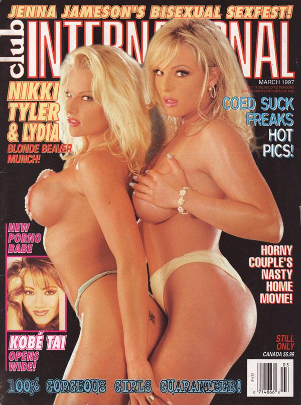 International club magazine nude