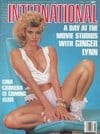 Ginger Lynn magazine cover  Club International March 1987