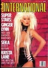 Ginger Allen Club International April 1987 magazine pictorial