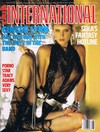 Ginger Lynn magazine cover  Club International August 1987