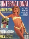 Ginger Lynn magazine cover  Club International February 1988