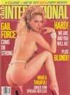 Ginger Allen Club International April 1988 magazine pictorial
