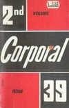 Corporal # 39 magazine back issue