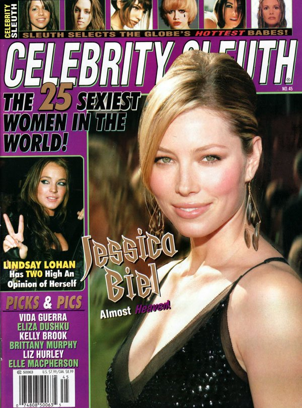 Celebrity Sleuth # 45 magazine back issue Celebrity Sleuth magizine back copy celebrity sleuth number 45, 2006 celebrity sleuth back issue, nude celebrities, sexiest women in the