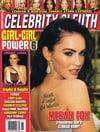 Janine Lindemulder Celebrity Sleuth # 61 magazine pictorial