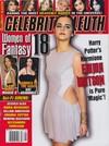 Celebrity Sleuth # 66 magazine back issue
