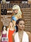 Paris Hilton, Angelina Jolie magazine cover Appearances Celebrity Sleuth # 98