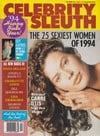 Sharon Stone Celebrity Sleuth Vol. 7 # 2 magazine pictorial