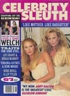 Celebrity Sleuth Vol. 8 # 6 magazine back issue