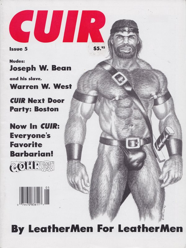 Cuir # 5 magazine back issue Cuir magizine back copy Cuir Next Door Party: Boston, The Whipping Post, Gohr comix, the auction block, ABCs of SM