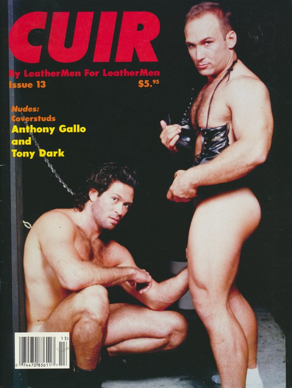 Cuir # 13 magazine back issue Cuir magizine back copy