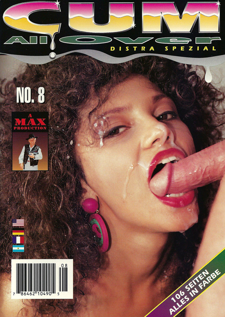 Cum All Over # 8 magazine back issue Cum All Over magizine back copy