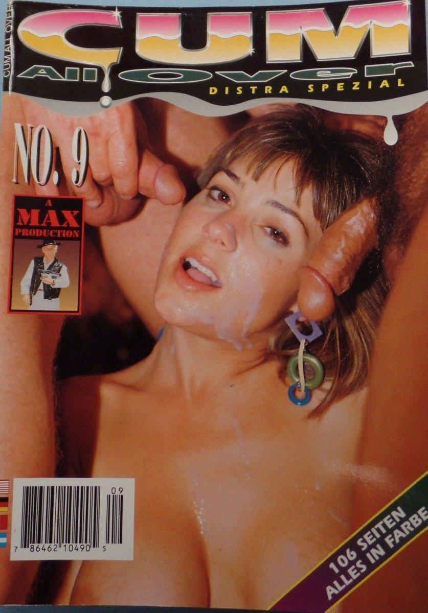 Cum All Over # 9 magazine back issue Cum All Over magizine back copy