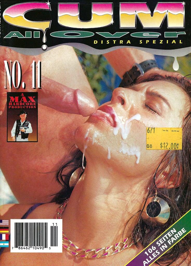 Cum All Over # 11 magazine back issue Cum All Over magizine back copy