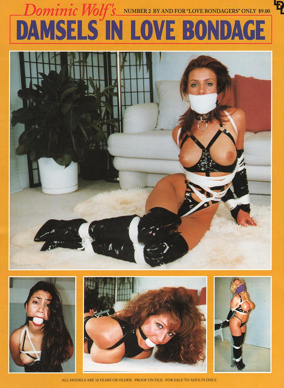 Damsel's in Love Bondage # 2 magazine back issue Damsel's in Love Bondage magizine back copy