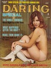 Daring Spring 1973 magazine back issue
