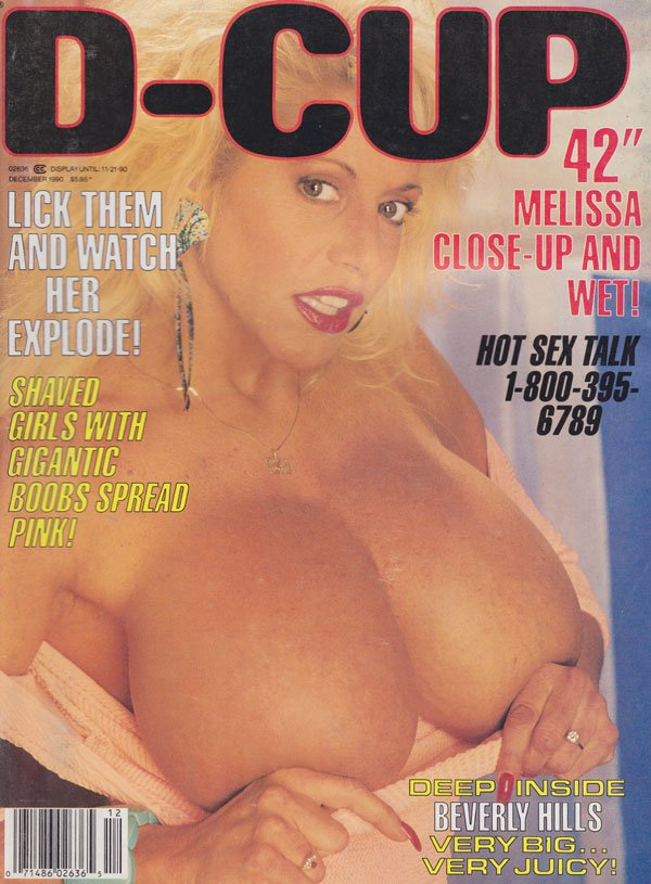 D-Cup December 1990 magazine back issue D-Cup magizine back copy d-cup magazine back issues 1990 shaved girls gigantic boobs hot sex photos huge tits very big juicy