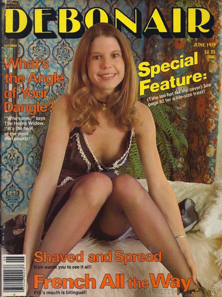 Debonair June 1979 magazine back issue Debonair magizine back copy