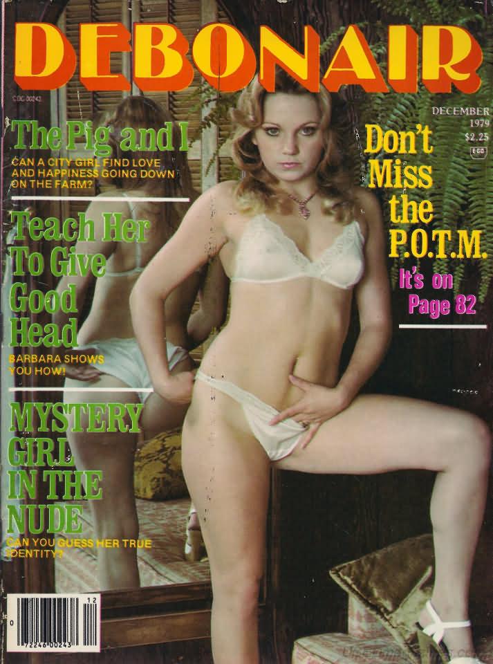 Debonair December 1979 magazine back issue Debonair magizine back copy
