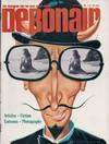 Debonair October 1968 magazine back issue