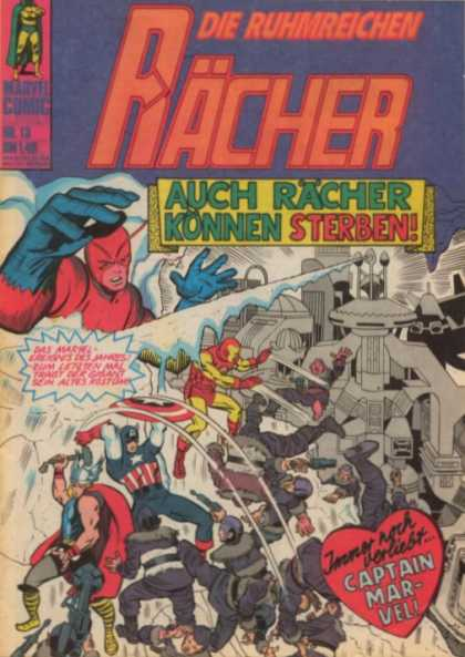 Die Racher A1 Comix Comic Book Database