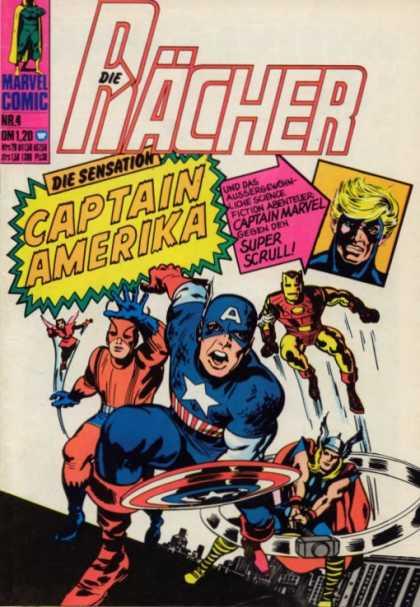 Die Racher A1 Comix Comic Book Database