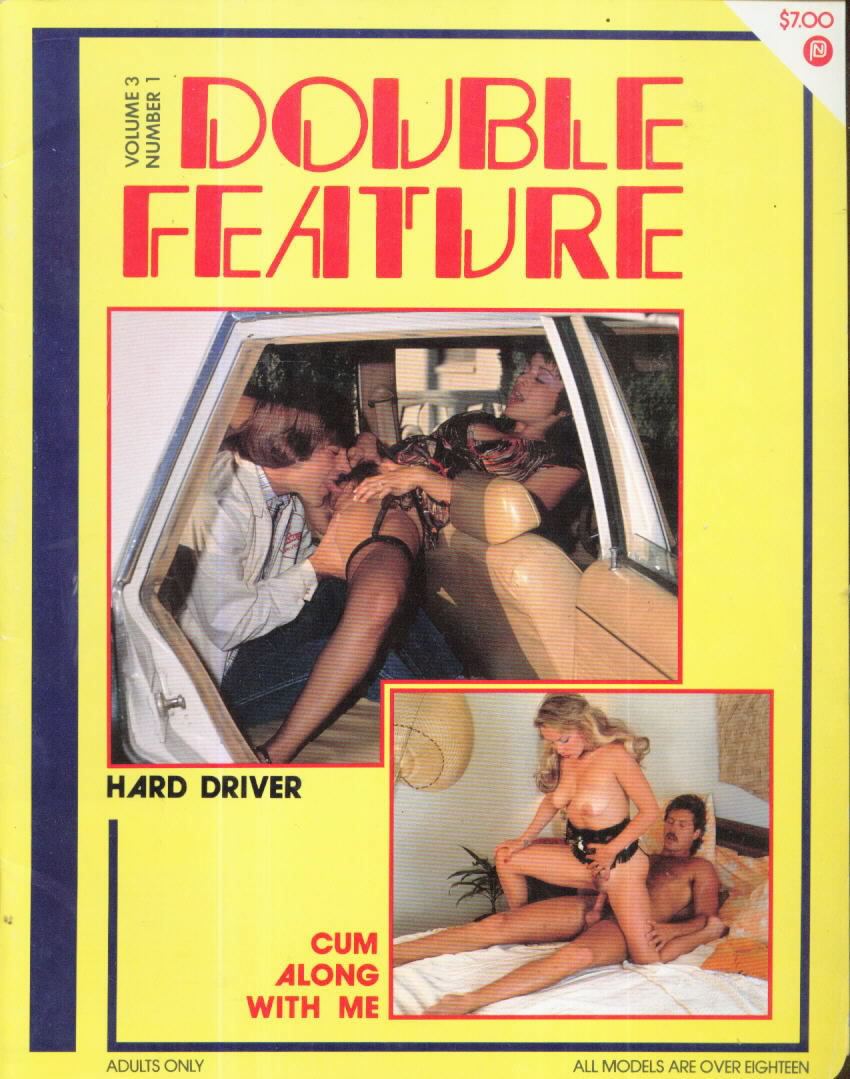 Double Feature Vol. 3 # 1 magazine back issue Double Feature magizine back copy