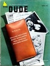 Dude March 1957 magazine back issue