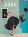 The Dude March 1958 magazine back issue