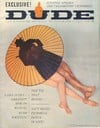 Dude July 1962 magazine back issue
