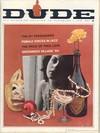 Dude January 1963 magazine back issue