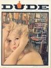 Dude May 1963 magazine back issue
