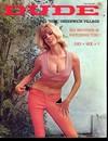 Dude September 1966 magazine back issue