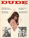 Dude March 1967 magazine back issue