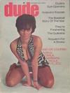 Dude September 1969 magazine back issue