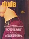 Dude November 1969 magazine back issue