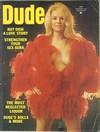 Dude September 1973 magazine back issue