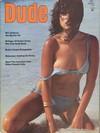 Dude January 1975 magazine back issue