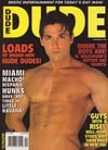 dude magazine back issues 1998 xxx hot horny nude men explicit pictorials naked men with huge dicks  Magazine Back Copies Magizines Mags
