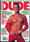 Dude February 2001 magazine back issue