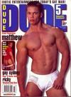 Dude November 2001 magazine back issue