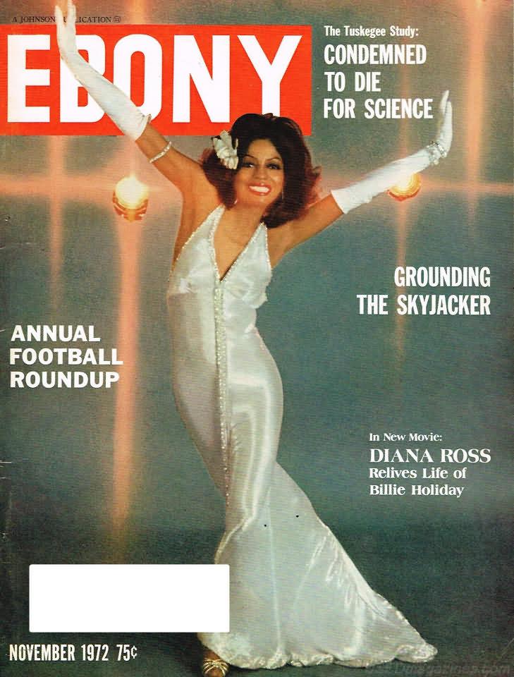 Kg 99 Magazines: Ebony November 1972 Product Ebony Nov 1972