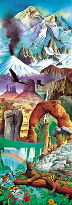 natural world wonders, educa jigsaw puzzle, great nature scenes by educa naturalworldwonders