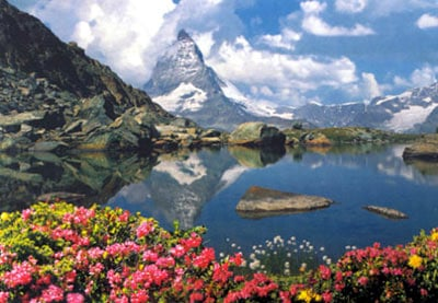 the matterhorn jigsaw puzzle, switzerland landscape, beautiful nature land, jigsaw puzzle matterhorneduca