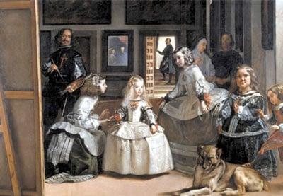 las meninas by diego velazquez, painting, ladies in waiting, educa jigsaw puzzle lasmeninasdamesinwaiting