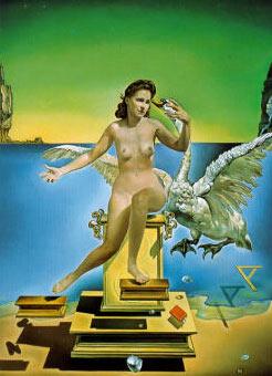 salvador dali painting, leda atomica, educa jigsaw puzzle 1000 pieces ledaatomica