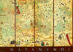 map of the world 1375, mapamundi jigsaw puzzle by educa crsques abraham mapamundimapoftheworld1375