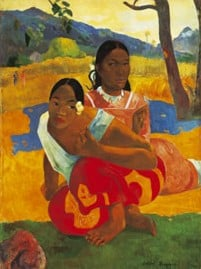 PaulGauguin Artist post-impressionism when will you marry educa puzzle # 10124 puzzel when-will-you-marry